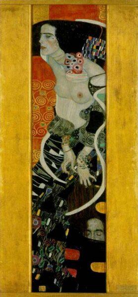 'Judith', Gustav Klimt, 1909