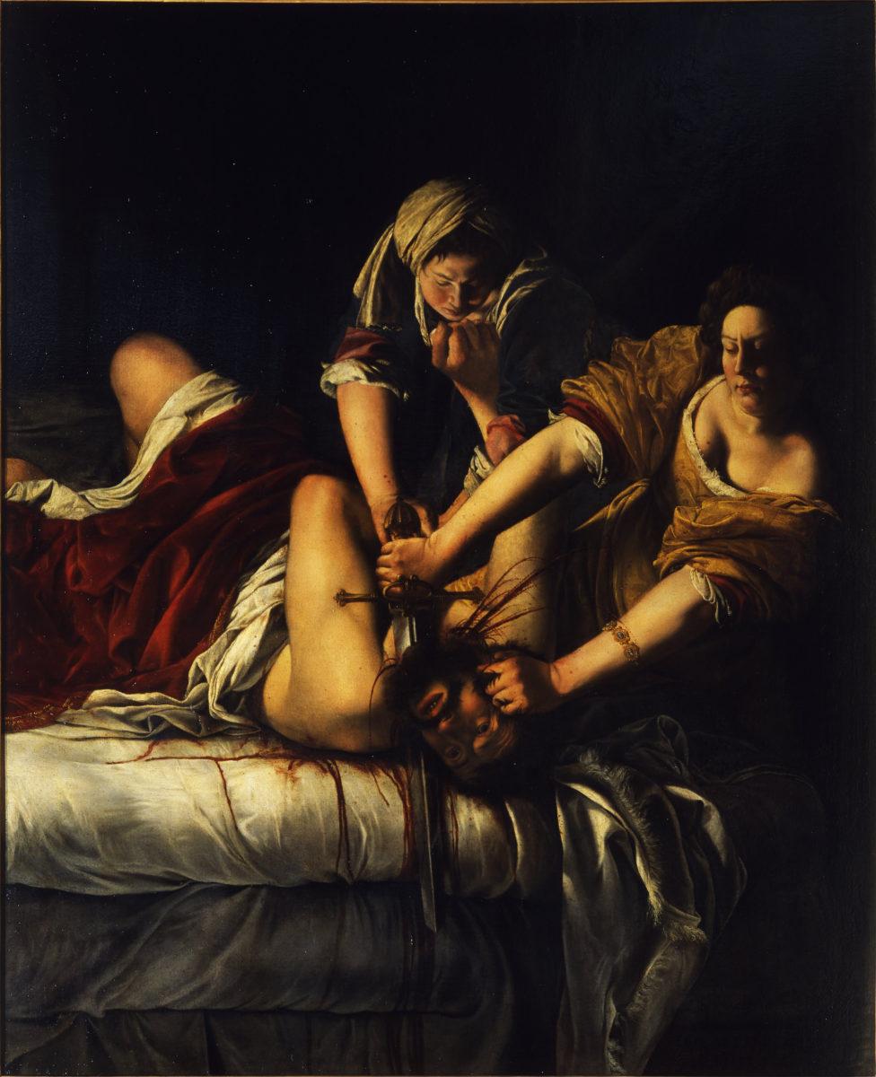Iudit il decapiteaza pe Holofern, Artemisia Gentileschi, 1612
