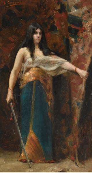 Léon Comerre, 1850 – 1916, JUDITH