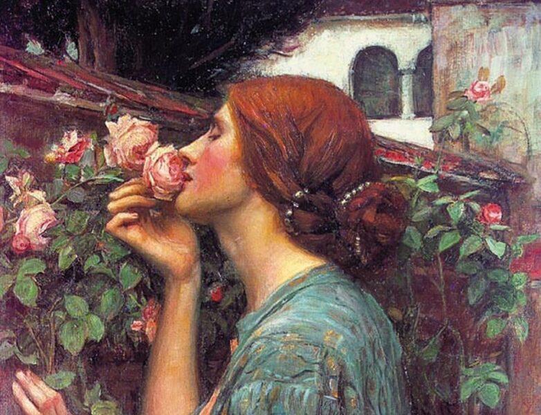 John William Waterhouse – The soul of the rose
