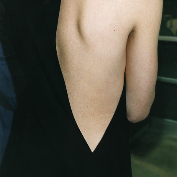 Narciso Rodriguez dress detail, via Narciso Instagram
